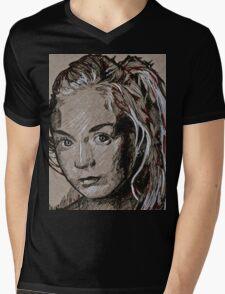 TWD Beth Mens V-Neck T-Shirt