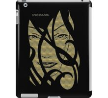 Mask gold metalic iPad Case/Skin