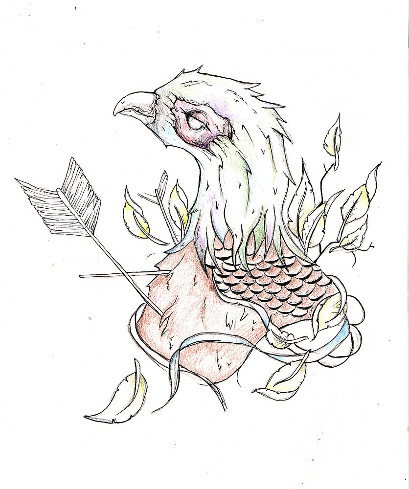 Pheasant (second design) by FAITH IS NOT PROOF
