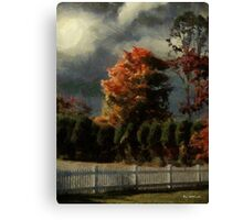 Tapestry of Clouds Canvas Print