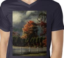 Tapestry of Clouds Mens V-Neck T-Shirt