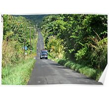 Summers Morn in Dominica Poster