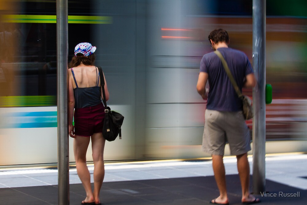 Commuters by Vince Russell