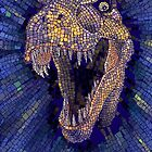 T-Rex mosaic by jatujeep