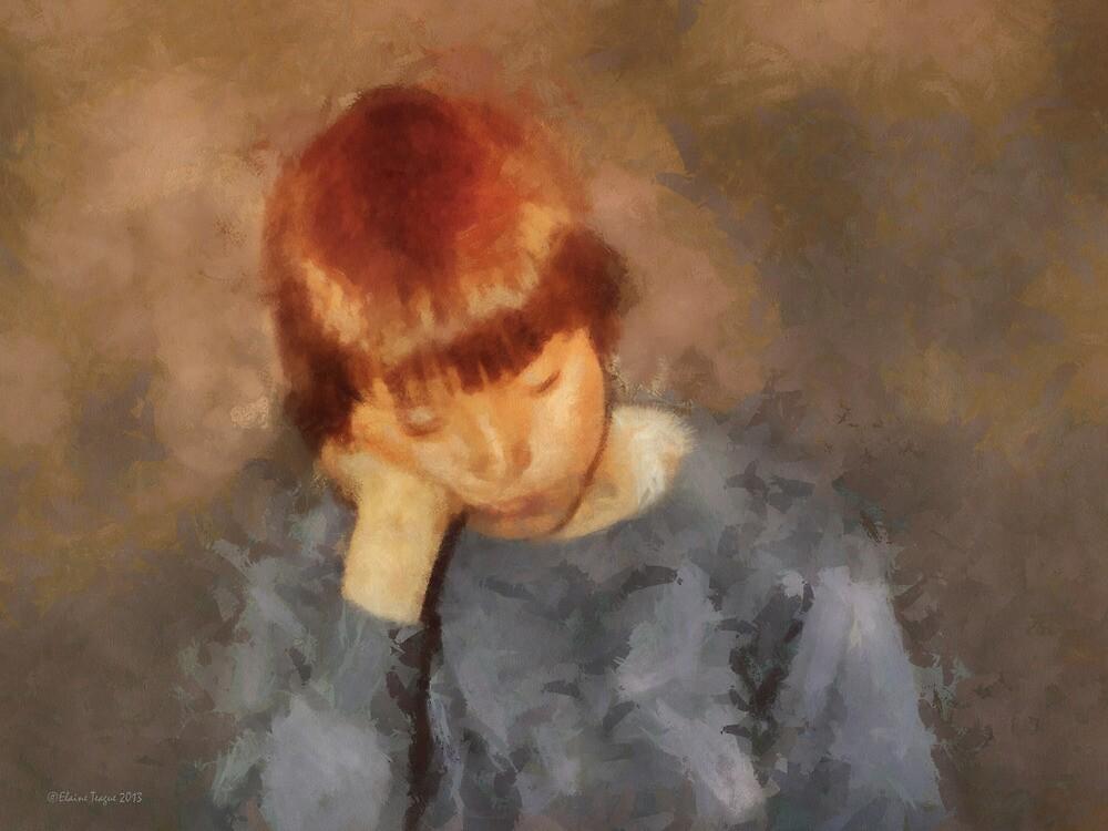 The Thinker by Elaine Teague