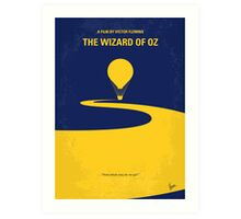 No177 My Wizard of Oz minimal movie poster Art Print