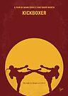No178 My Kickboxer minimal movie poster by Chungkong