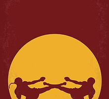 No178 My Kickboxer minimal movie poster by Chungkong