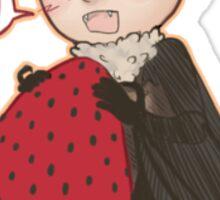 Batjohn- Strawberry! Sticker