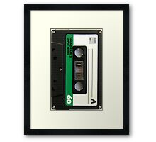 Audio Tape Framed Print