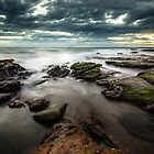 Shelly Beach, Sunshine Coast, Queensland, Australia by Aaron  Bishop