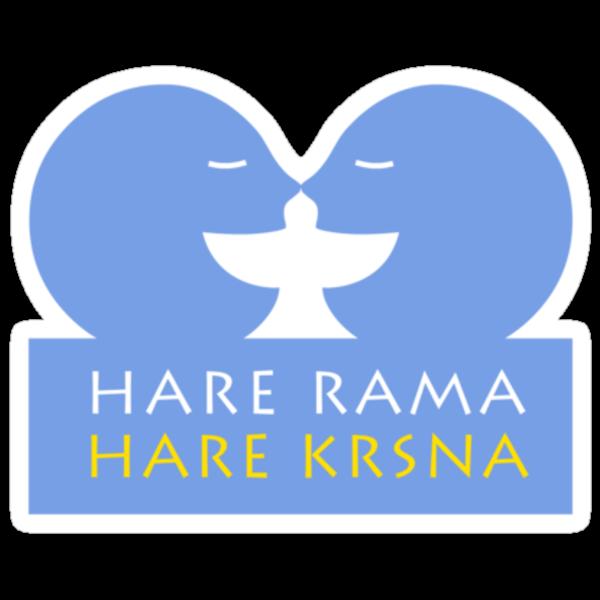 HARE RAMA HARE KRISHNA by Kim  Lynch
