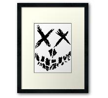 Suicide Skwad Skull Framed Print