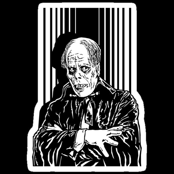The Phantom of the Opera (Black) by Hypnogoria