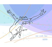 one line swing arms Photographic Print
