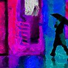 Rain in January by DiNovici