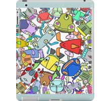 Cool cars character mix iPad Case/Skin
