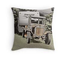 I think I can , I think I can, yup I know I can... Throw Pillow