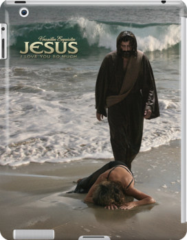 Jesus: I love you so much (iPad Case) by Angelicus