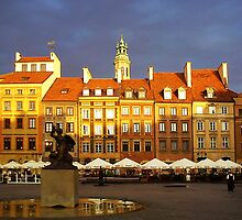 Warsaw Old Town by seawhisper