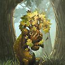 Crying Tree of Life by Okha