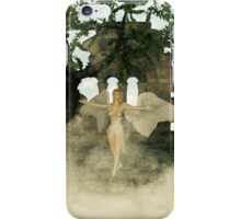 Angel and The Sacred Ruins iPhone Case/Skin