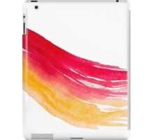 Colorful Watercolor Brush  iPad Case/Skin