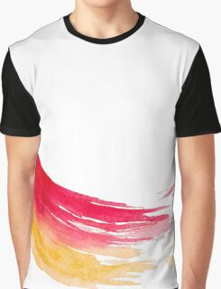Colorful Watercolor Brush  Graphic T-Shirt