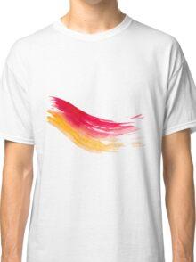 Colorful Watercolor Brush  Classic T-Shirt
