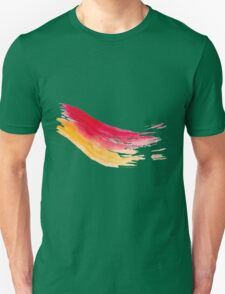 Colorful Watercolor Brush  Unisex T-Shirt