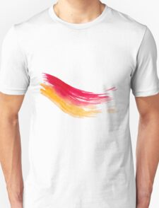 Colorful Watercolor Brush  T-Shirt