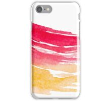 Colorful Watercolor Brush  iPhone Case/Skin