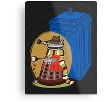 Daleks in Disguise - Fourth Doctor Metal Print