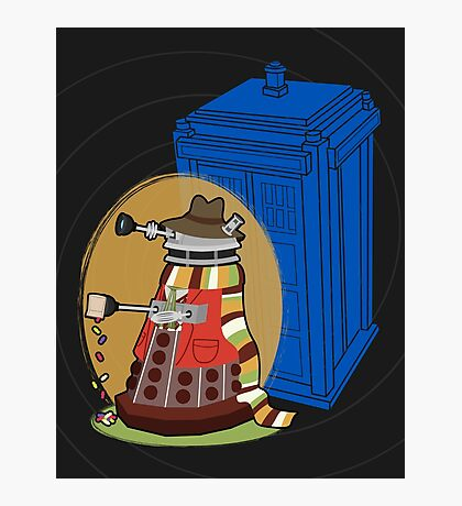 Daleks in Disguise - Fourth Doctor Photographic Print