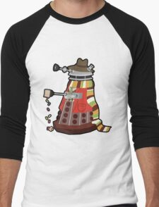 Daleks in Disguise - Fourth Doctor Men's Baseball ¾ T-Shirt