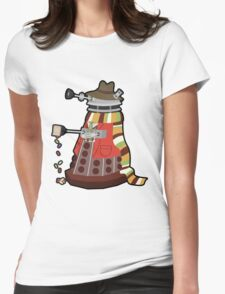 Daleks in Disguise - Fourth Doctor Womens Fitted T-Shirt