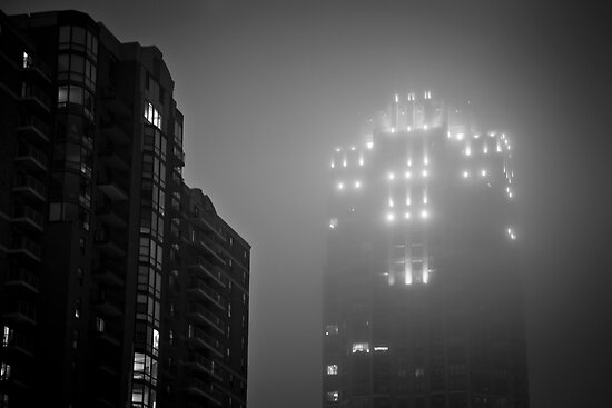 Minneapolis Fog by Jeff Stubblefield