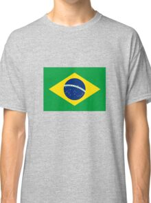 Brazil Flag Classic T-Shirt