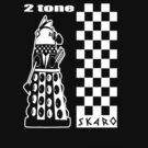Two Tone Dalek by ToneCartoons