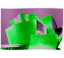 Guggenheim Abstract Poster