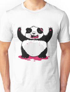 Scary Vampire Panda Unisex T-Shirt
