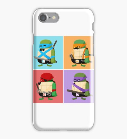 Teenage Mutant Ninja Turtles Pop Art iPhone Case/Skin