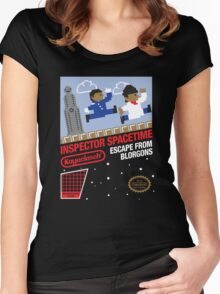 8-Bit Inspector Women's Fitted Scoop T-Shirt
