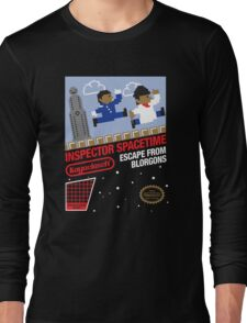 8-Bit Inspector Long Sleeve T-Shirt