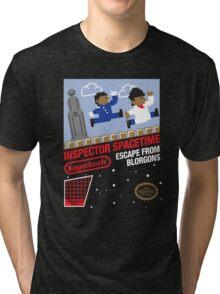 8-Bit Inspector Tri-blend T-Shirt