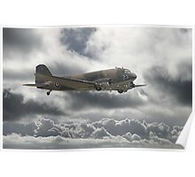 Dakota DC3  - Aerial Workhorse Poster