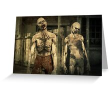 Zombie Apocalypse 2 Greeting Card