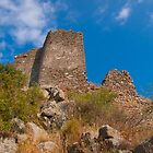 View on the Roman Castle, Turkey by Kirk D. Belmont Photography