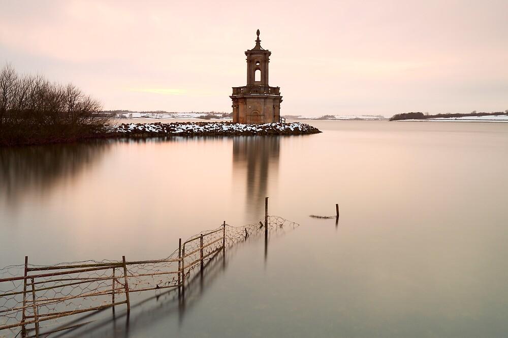 Normanton Church Sunset by Nick Atkin