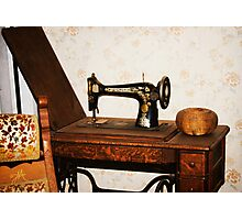 A Stitch in Time Photographic Print